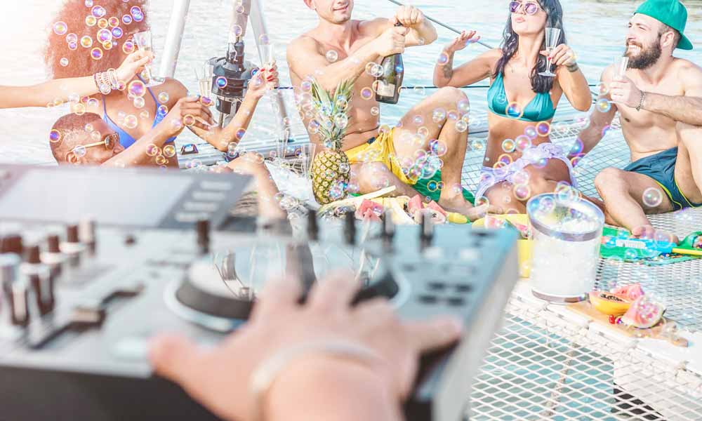 things to see and do in San Antonio, Ibiza - boat party