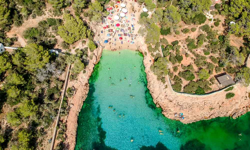 things to see and do in San Antonio, Ibiza - Cala Gracioneta