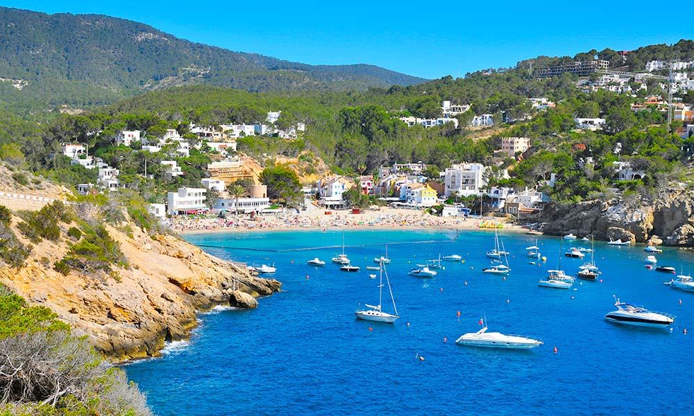 Ibiza Karte Strande.Die Besten Strande Und Buchten Von San Antonio Ibiza