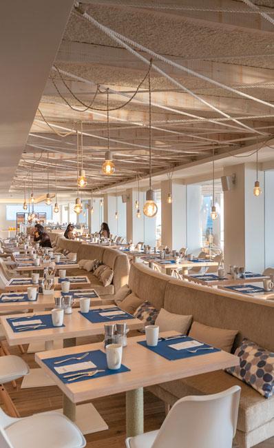 Mare Nostrum Restaurant buffet Amàre Ibiza