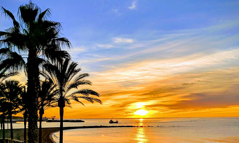 Marbella sunrise