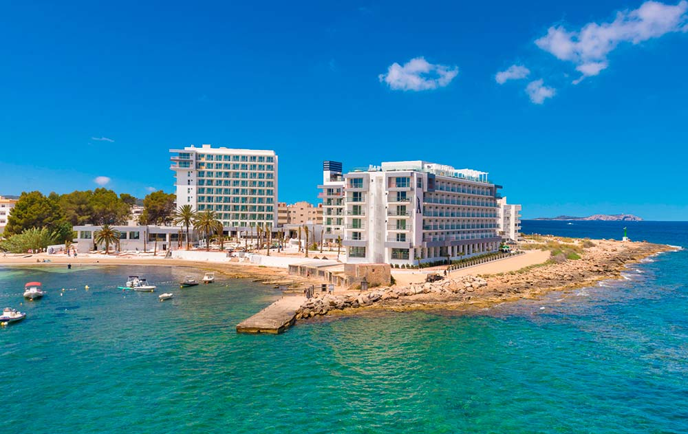 Amàre Beach Hotel Ibiza - aerial views