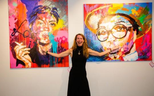 Anne Schellberg exhibition Amàre Marbella