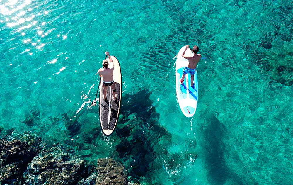 Paddle Surfing Ibiza