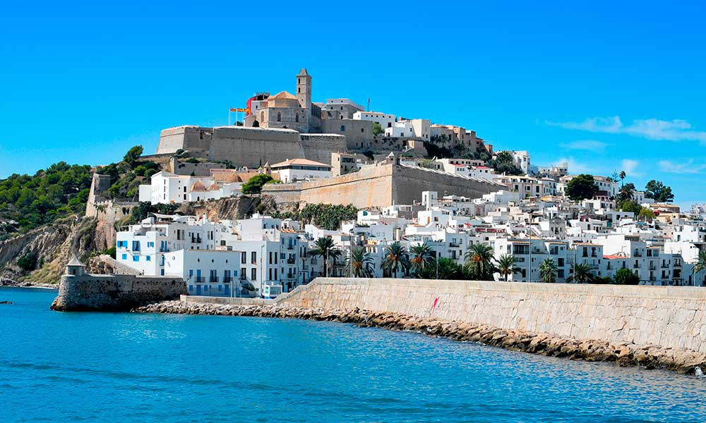 The walled enclosure of Dalt Vila (Ibiza)