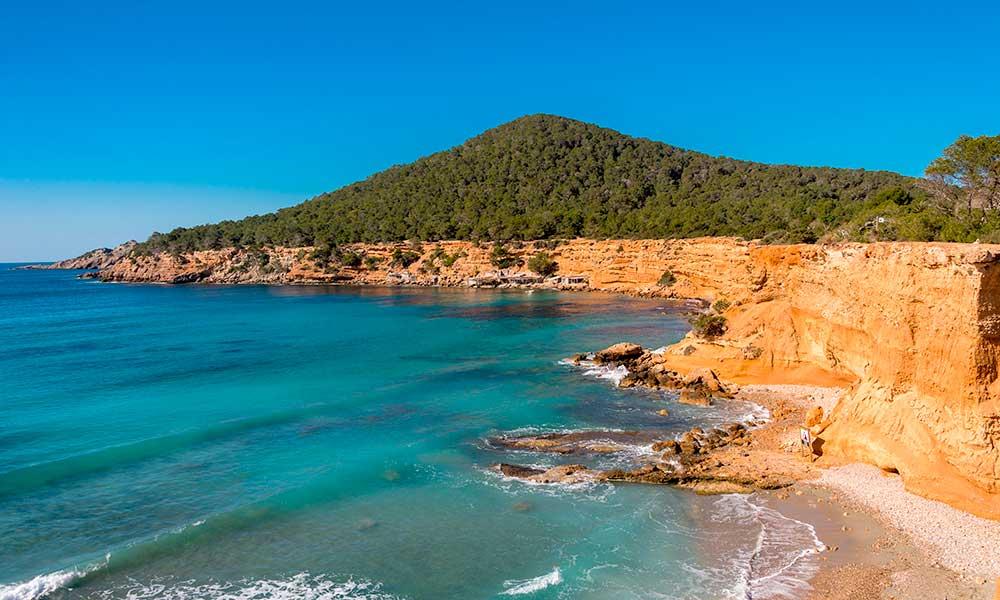Es Bol Nou cliffs, Ibiza