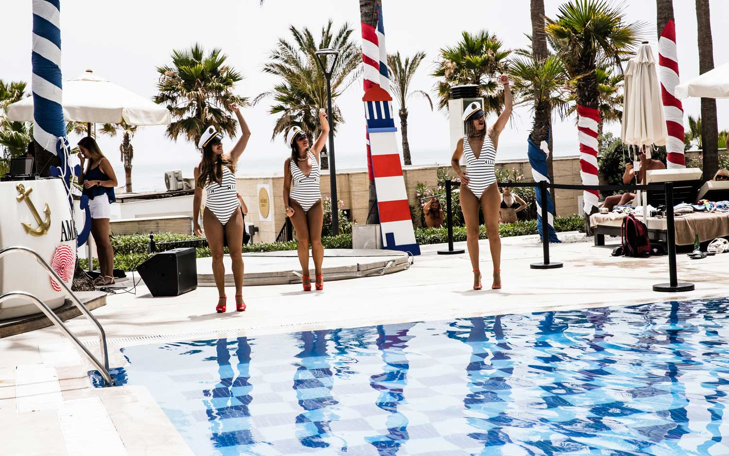 Sailor Pool Party