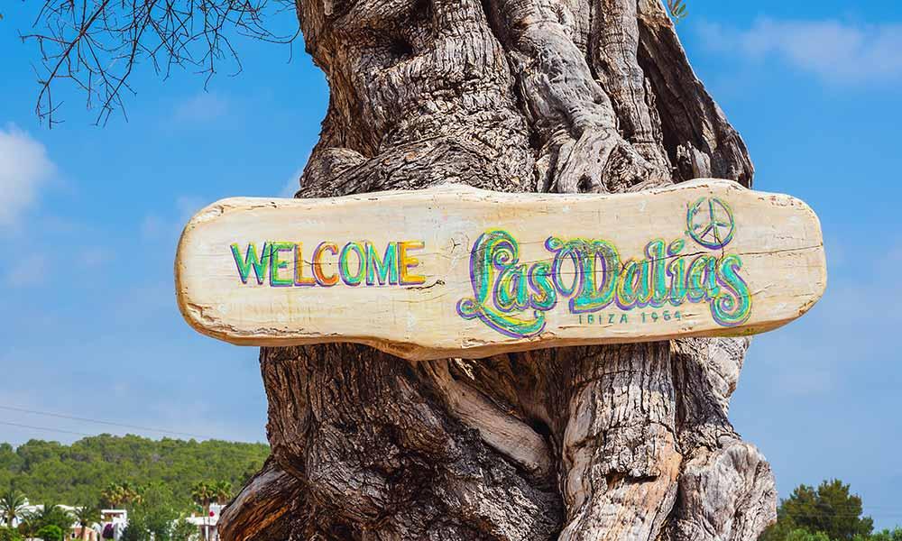 Las Dalias Market Ibiza - Crédito editorial: Helena G.H / Shutterstock.com