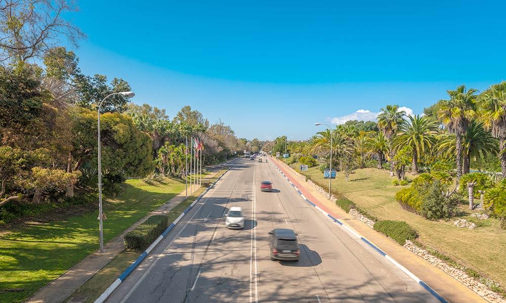 Marbella access road