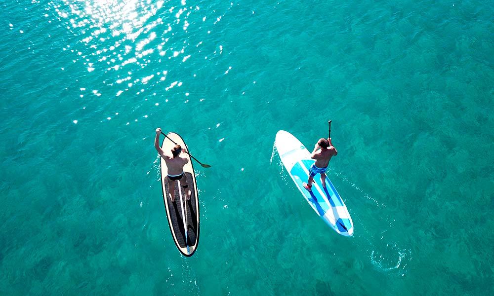 paddleboarding Marbella