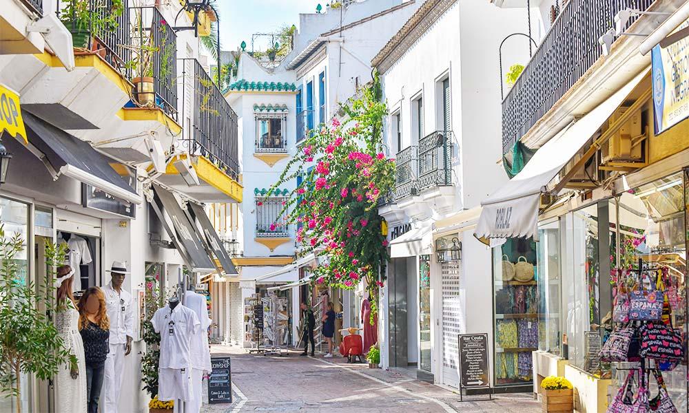 Tiendas Casco Antiguo Marbella