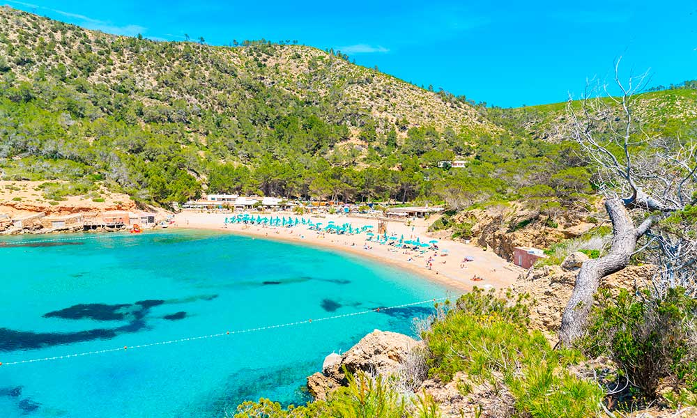 Cala Benirrás, Ibiza
