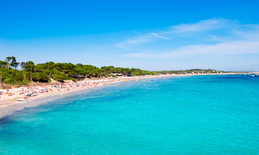 Ses Salines beach, Ibiza